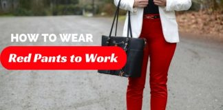 Red Pants to Work