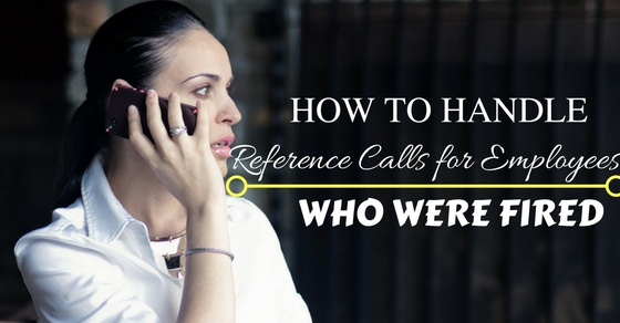 Reference Calls for Employees