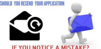 Resend Job Application
