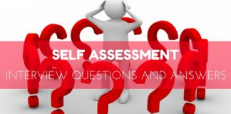 Self Assessment Interview Questions Answers