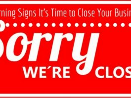 Signs It's Time to Close Business