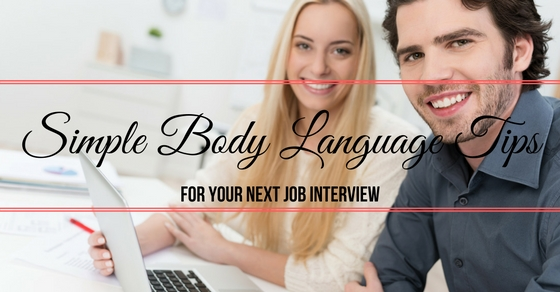 Simple Body Language tips