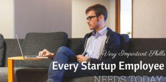 Skills Startup Employee Needs