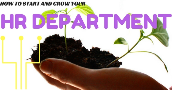 Start and Grow HR Department