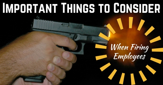 Things to Consider When Firing Employees