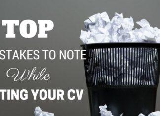 Top CV Mistakes Checklist