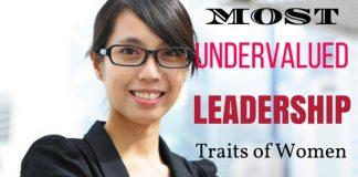 Undervalued Leadership Traits of Women