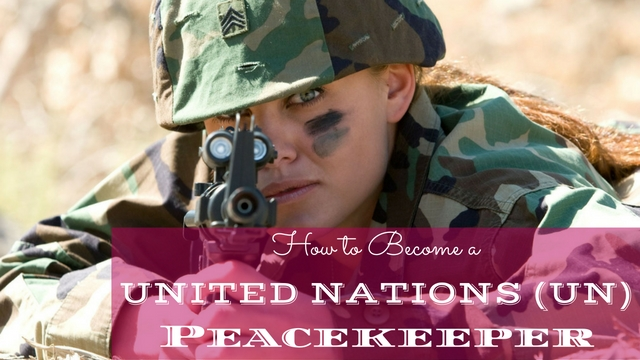 United Nations Peacekeeper