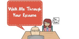 Walk Me Through Your Resume