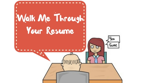 how to walk a recruiter through your resume