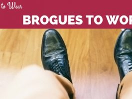 Wear Brogues to Work