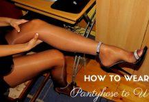 Wear Pantyhose to Work