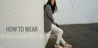 Wearing Sneakers to Work