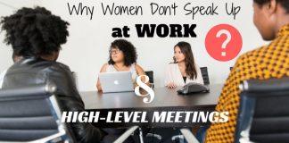Why Women Don't Speak Up