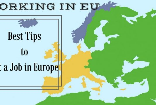 Working in EU Europe