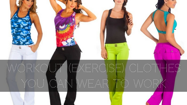 560cc6ea2c1a5f 29 Workout (Exercise) Clothes You Can Wear to Work - WiseStep