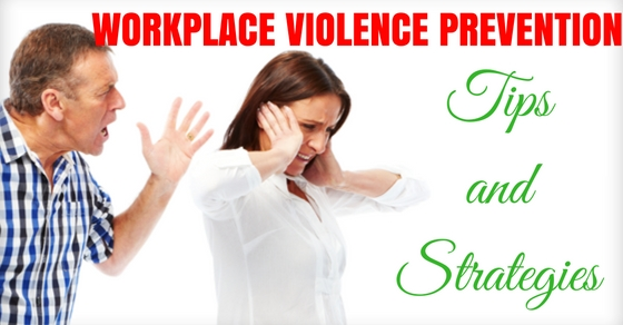 Workplace Violence Prevention Tips