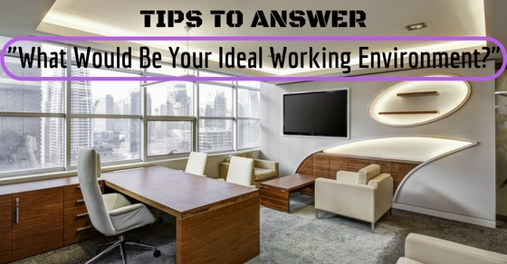 Your Ideal Working Environment
