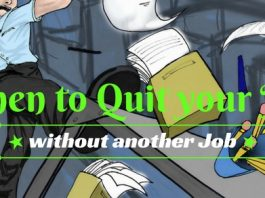 when to quit your job