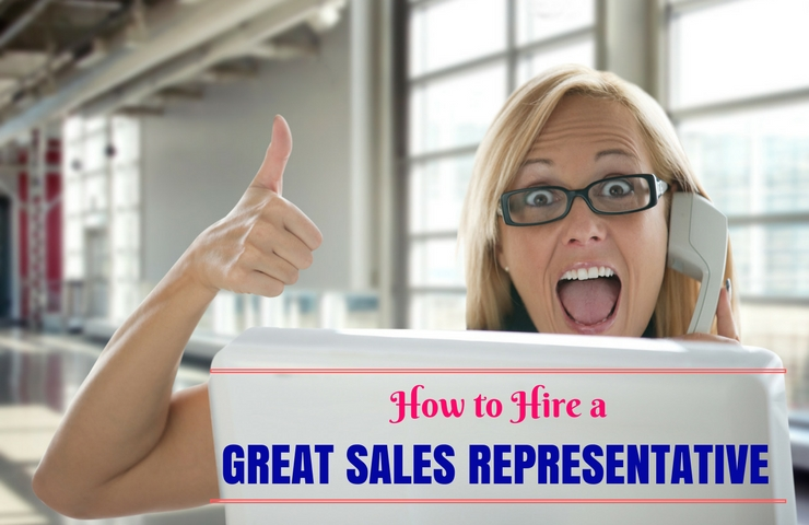 Hiring Sales Representative