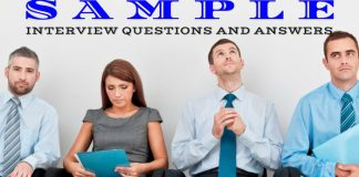Sample Interview Questions Answers