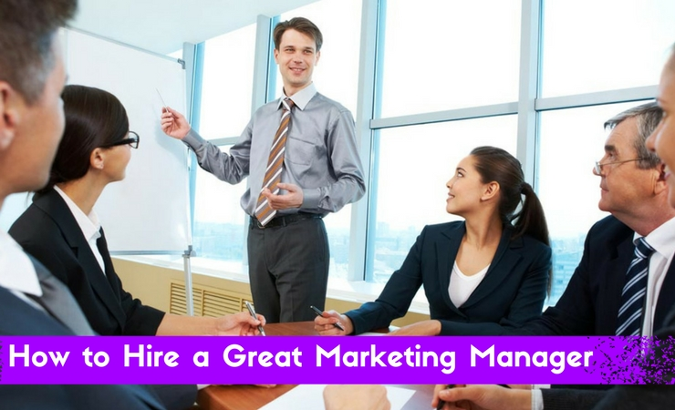 Hiring Marketing Manager