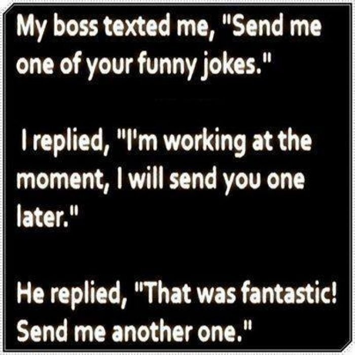 funny text joke