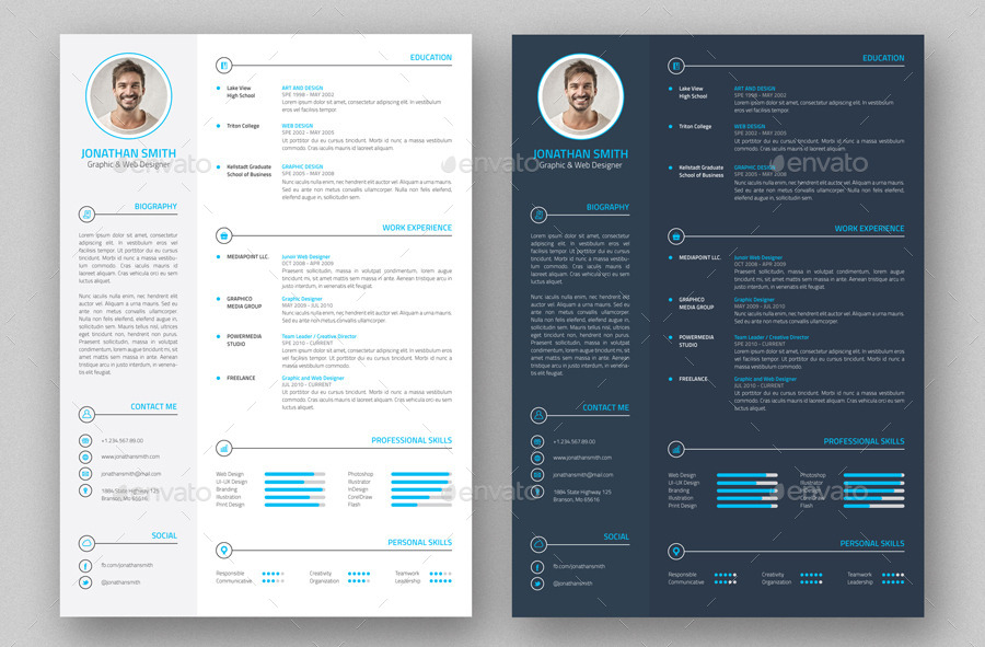 Best Resume Portfolio Templates To Download Free  Wisestep