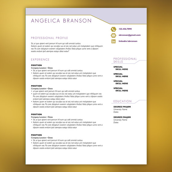 Retail management cv