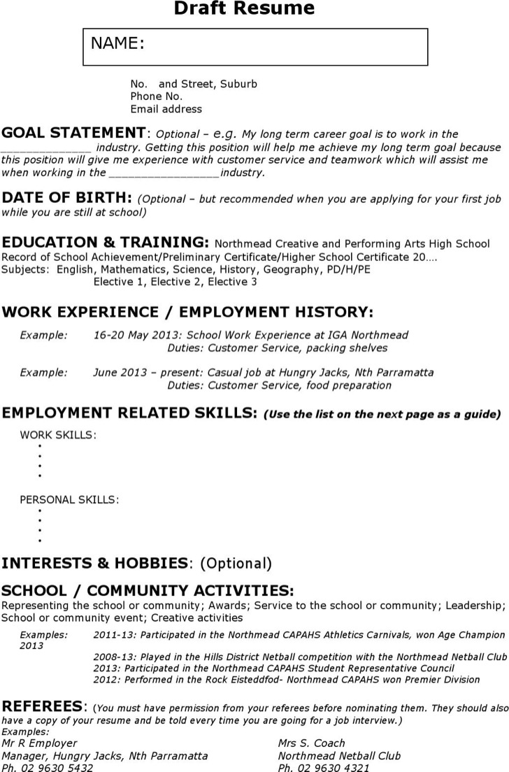 18 Best Babysitter Resume Sample Templates WiseStep