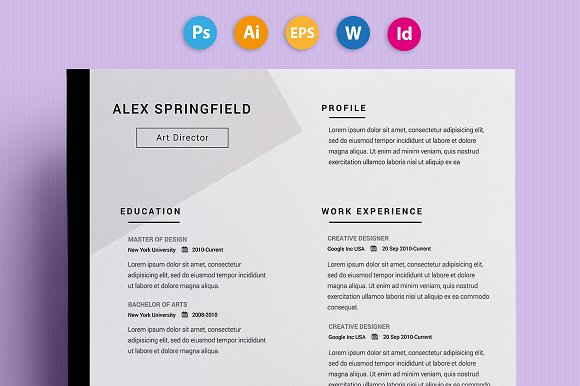 Download Resume Template  Resume Template Creative