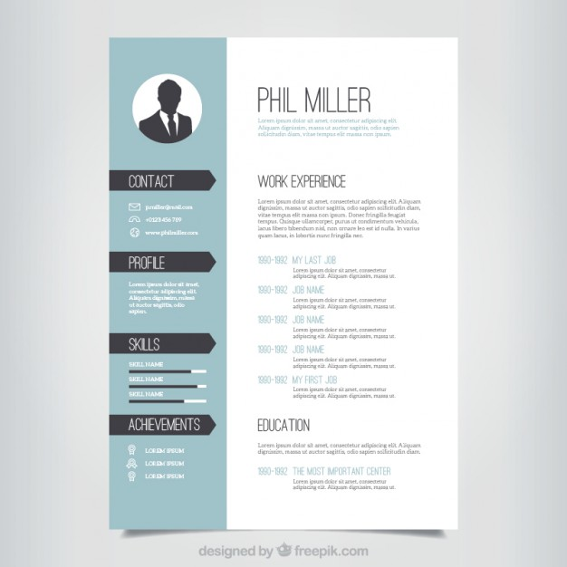 Etonnant Best Designed Resume. Download Resume Template