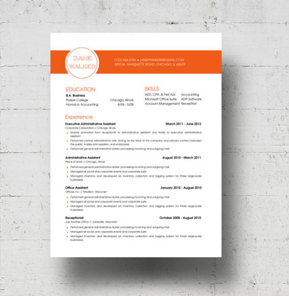 best professional resume