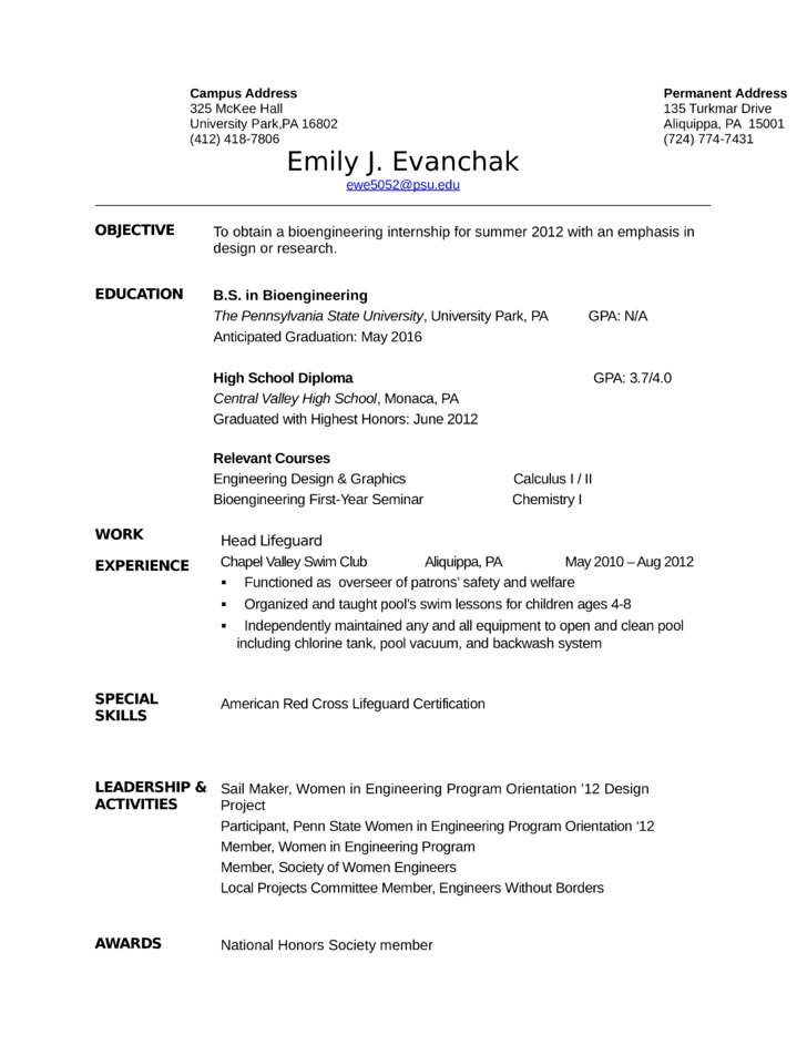 9 best lifeguard resume sample templates