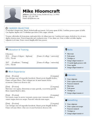 Best Contemporary Resumes. contemporary resume templates berathen ...