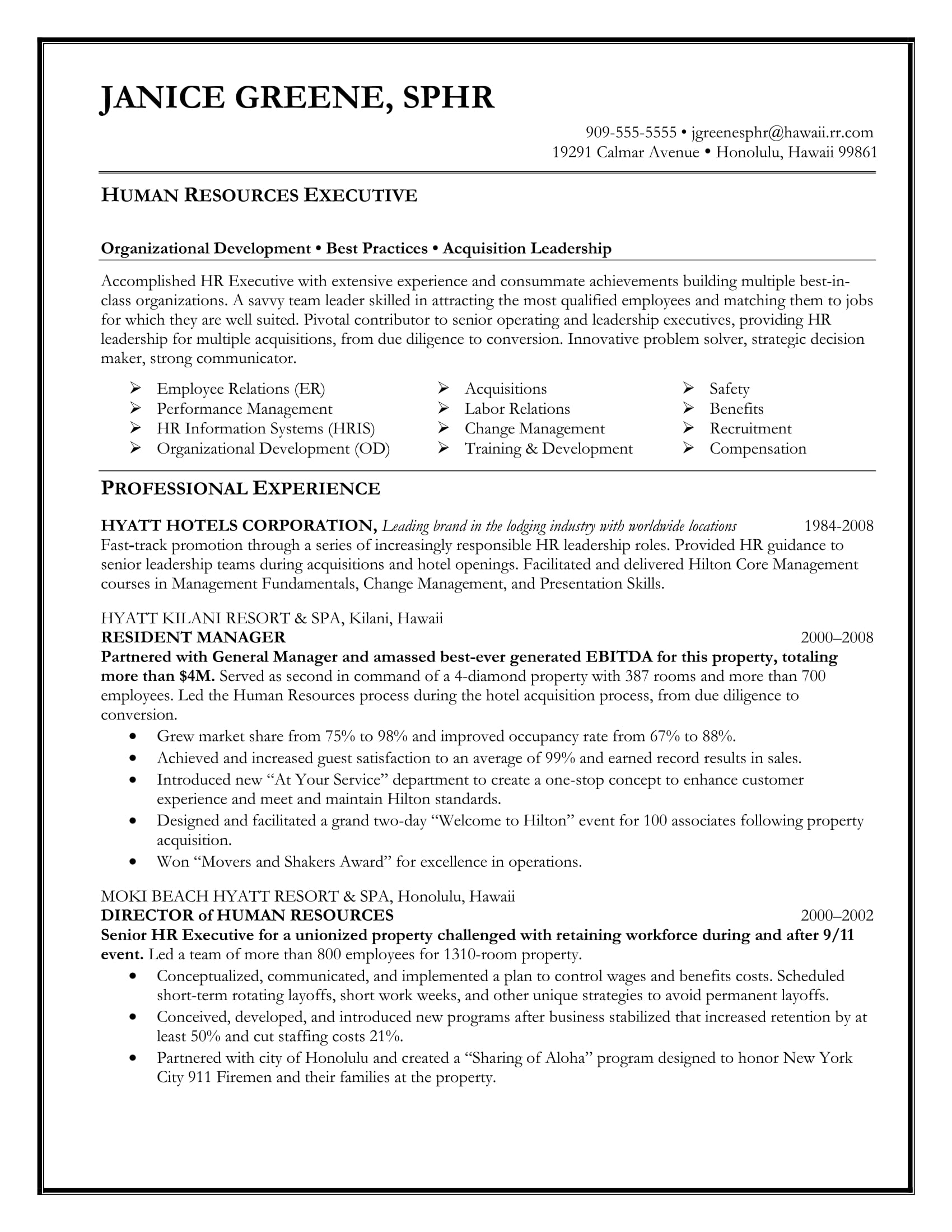 Best Sample Executive Resume Templates WiseStep - Management resume templates free