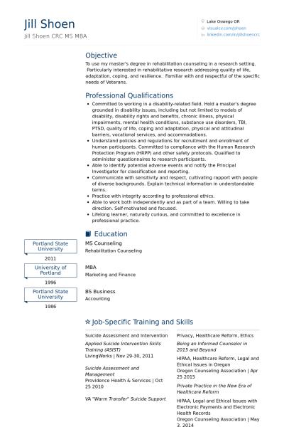 Graduate Internship Resume:  Resumes For Internships