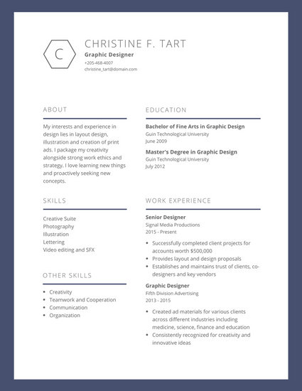 29 awesome infographic resume templates you want to steal