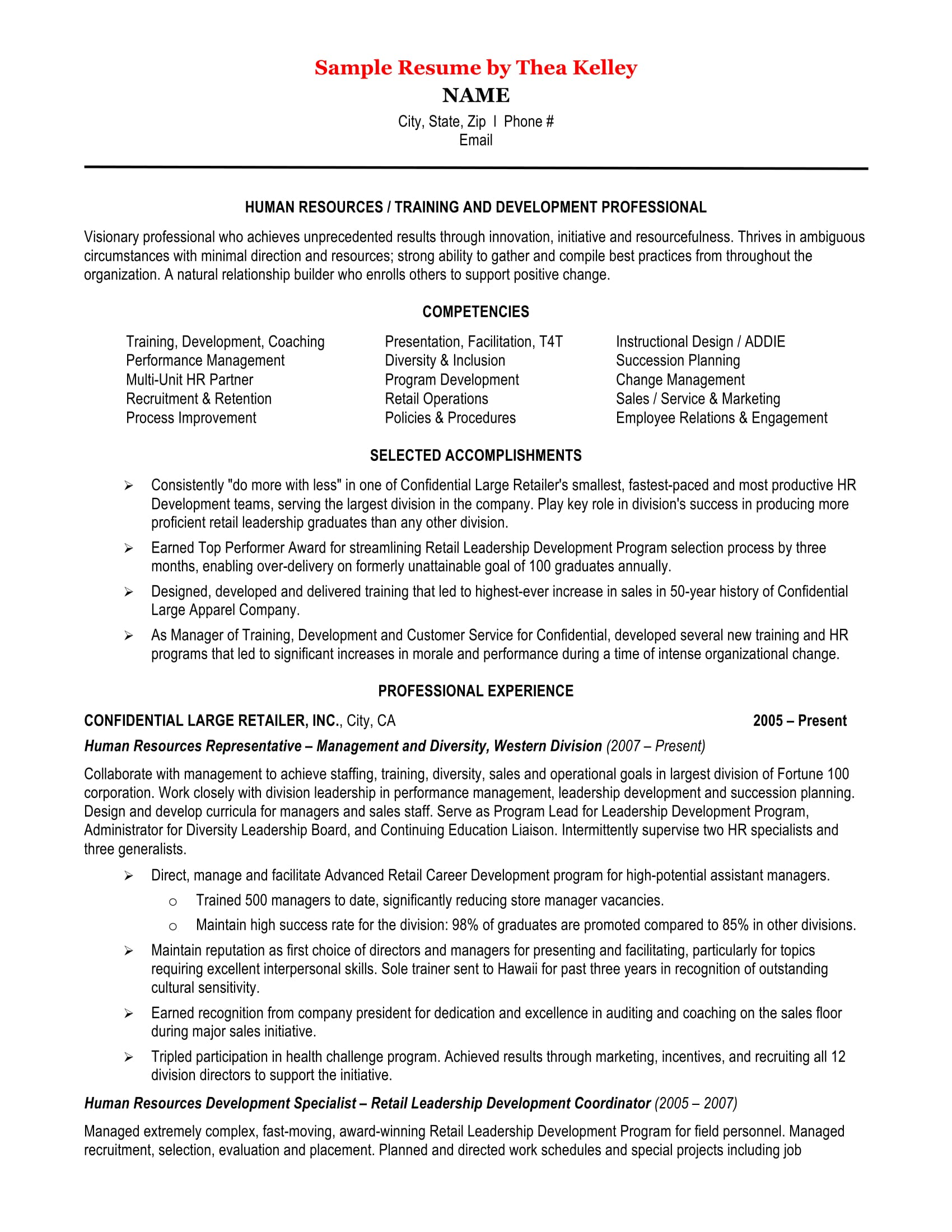 21 best hr resume templates for freshers  u0026 experienced