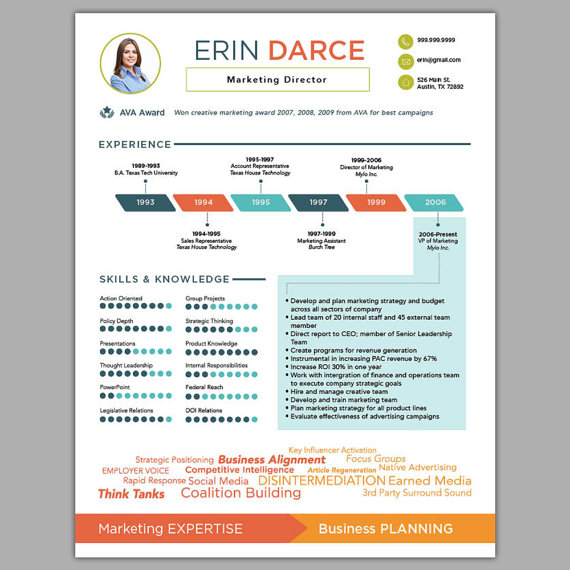 infographic resume template docx free templates download