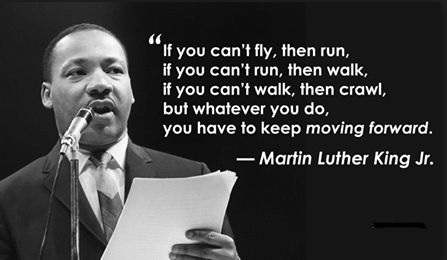 martin luther king jr quotes if you can fly