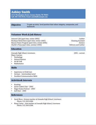 Multi Purpose Resume