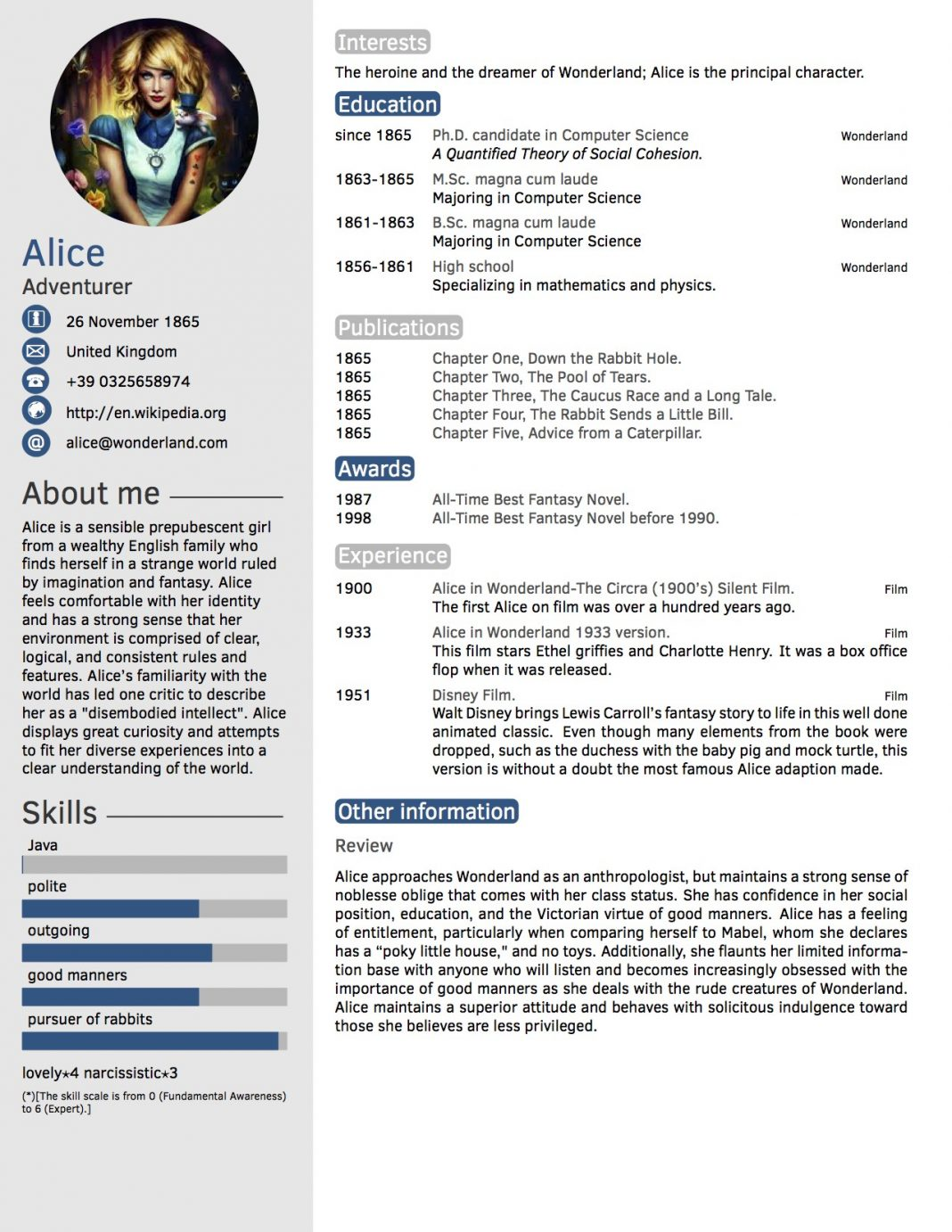 cv in tabular form - 18 tabular resume format templates