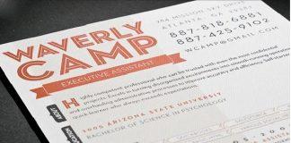 press resume sample