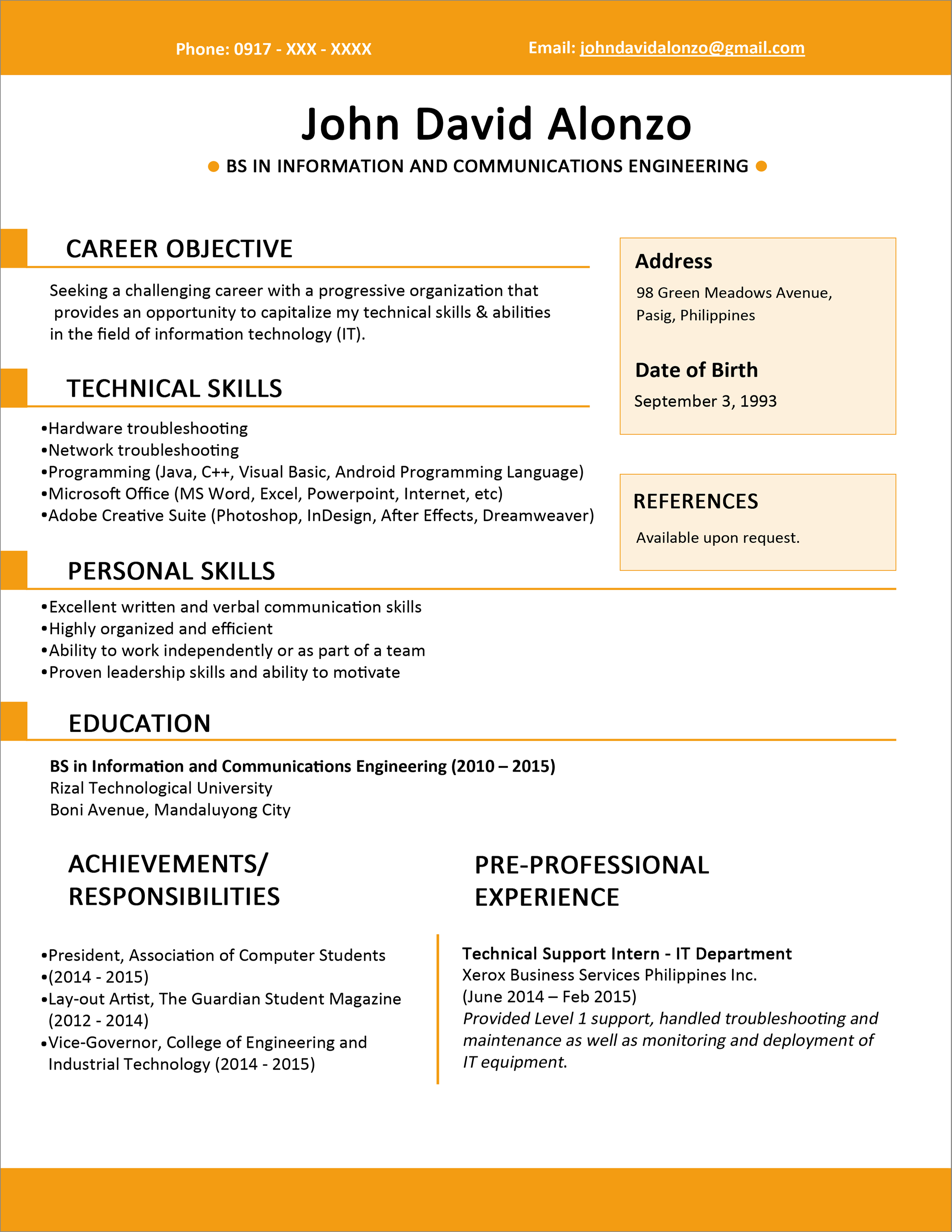Simple And Basic Resume Templates For All Jobseekers  Wisestep