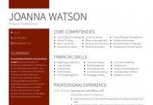 team resume sample