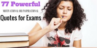 Quotes for Exams