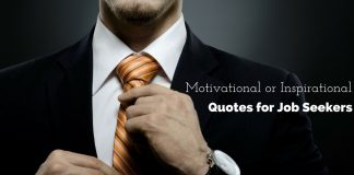 Quotes for Job Seekers