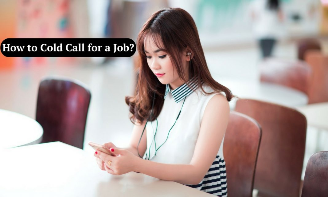Cold Calling for Jobs