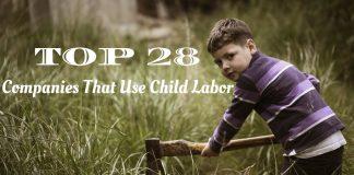 Companies That Use Child Labor